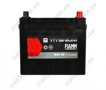 Аккумулятор Fiamm Black Titanium 45Ah JR+ 360A