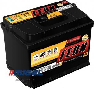 Аккумулятор Feon 60 AH R+540A