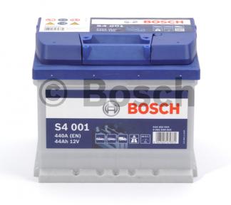 Аккумулятор Bosch S4 44AH R+440A (EN) ( Низкобазовый )