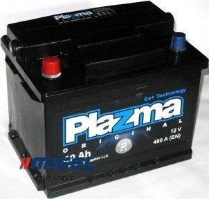 Аккумулятор Plazma Original 60Ah L+ 480A