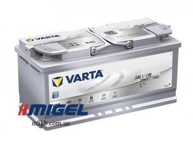 Аккумулятор Varta 105Ah R+ 950A Silver Dynamic AGM