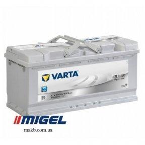 Аккумулятор Varta 110Ah R+ 920A Silver Dynamic