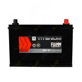 Аккумулятор Fiamm Black Titanium 95Ah JR+ 760A