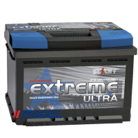 Аккумулятор Extreme Ultra (SMF) 62AH L+ 620A (низкобазовый)