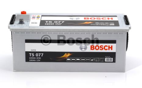 Аккумулятор Bosch T5 HDE 180AH L+1000A (EN)