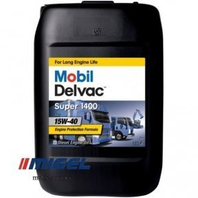 Моторное масло Mobil Delvac Super 1400E 15W-40