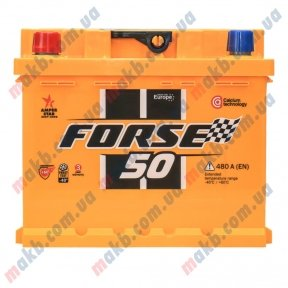 Аккумулятор Forse 50Ah L+ 480A