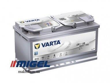 Аккумулятор Varta 95Ah R+ 850A Silver Dynamic AGM