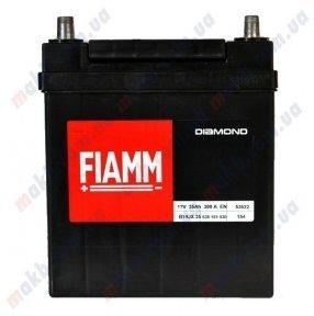 Аккумулятор Fiamm Diamond 35Ah JR+300A (тонкая клемма)