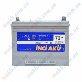 Аккумулятор INCI-AKU Formul A 72Ah JR+ 600A