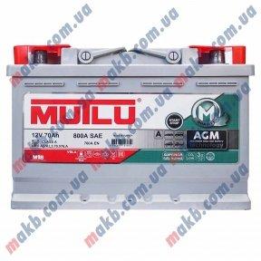 Аккумулятор Mutlu AGM Start-Stop 70Ah R+ 760A
