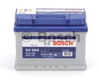 Аккумулятор Bosch S4 60AH R+540A (EN) (Низкобазовый)