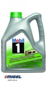 Моторное масло Mobil 1 ESP x2 0W-20 Advanced Fuel Economy