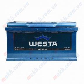 Аккумулятор WESTA 100Ah R+ 850A