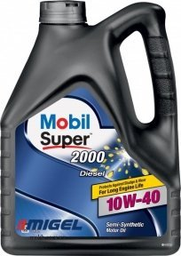 Моторное масло Mobil Super 2000 x1 Diesel 10W-40