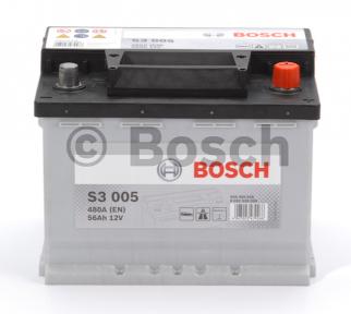 Аккумулятор Bosch S3 56AH R+480A (EN)