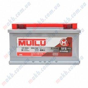 Аккумулятор Mutlu SFB Technology (Ser3) 6CT-85Ah R+ 800A (низкобазовый)
