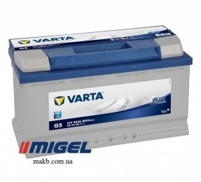 Аккумулятор Varta 95Ah R+ 800A Blue Dynamic
