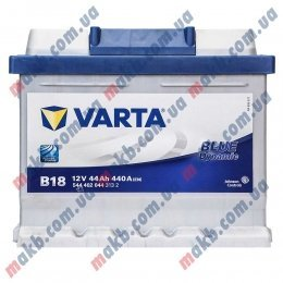 Аккумулятор Varta 44Ah R+ 440A Blue Dynamic