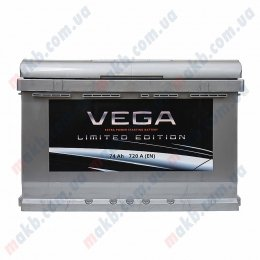 Аккумулятор Vega Limited Edition 74Ah R+ 720A