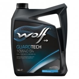 Моторное масло WOLF GUARDTECH 10W40 B4
