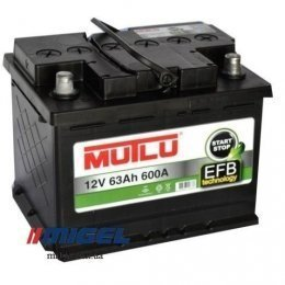 Аккумулятор Mutlu EFB Start-Stop Technology 63Ah R+ 600A