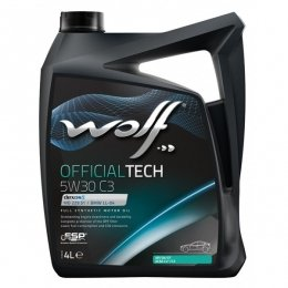 Моторное масло WOLF OFFICIALTECH 5W30 C3
