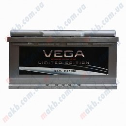 Аккумулятор Vega Limited Edition 100Ah R+ 850A