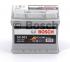 Аккумулятор Bosch S5 Silver Plus 52AH R+520A (EN) (Низкобазовый)